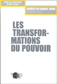 Lemememonde.fr Les transformations du pouvoir - Seconde série Volume II Image