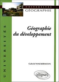 Gabriel Wackermann - Géographie du développement.