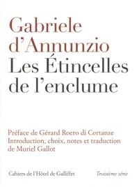 Gabriele D'Annunzio - les etincelles de l'enclume.