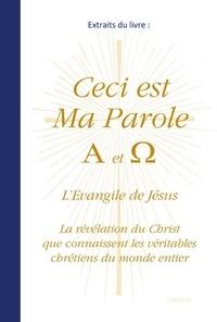 Gabriele - Extraits du livre  Ceci est Ma Parole A et Ω.