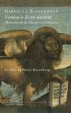 Gabriella Zimmermann - Venise à livre ouvert - Histoire de la librairie française.