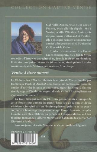 Venise à livre ouvert. Histoire de la librairie française