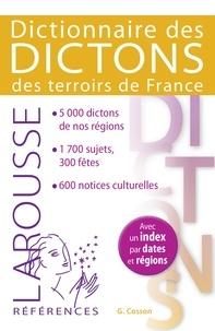 Gabrielle Cosson - Dictionnaire des dictons des terroirs de France.