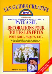 COMMENT REALISER DES SCULPTURES EN PATE A SEL. Décoration pour Noël, Pâques, etc....pdf