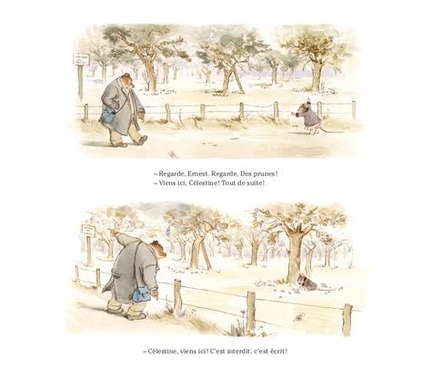 Ernest et Célestine  Au jour le jour