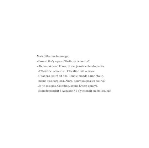 Ernest et Célestine (d'après la série télévisée)  Une étoile pour Célestine