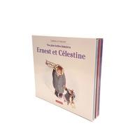 Gabrielle Vincent - Ernest et Célestine  : Nos plus belles histoires - Coffret en 3 volumes : Ernest et Célestine ont perdu Siméon ; Ernest et Célestine vont pique-niquer ; Ernest et Célestine au cirque.