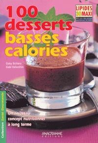 Gaby Schierz et Gabi Vallenthin - 100 desserts basses calories.
