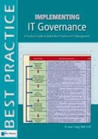 Gad J. Selig - Implementing IT Governance: A Pocket Guide.