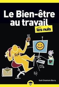 Gaël Châtelain-Berry - Le Bien-être au travail pour les Nuls.