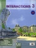 Gaël Crépieux et Gaëlle Frenehard - Interactions 3 A2 - Méthode de français. 1 DVD