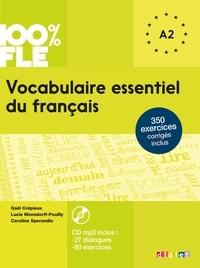 Gaël Crépieux et Lucie Mensdorff-Pouilly - Vocabulaire essentiel du français niveau A1/A2. 1 CD audio MP3