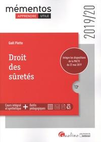 Gaël Piette - Droit des sûretés.