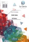 Gaëlle Flament - CAP EVS option A - Sujets d'examen.