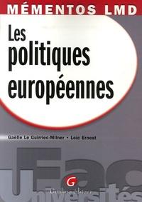 Gaëlle Le Guirriec-Milner et Loïc Ernest - Les politiques européennes.