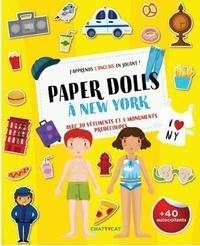 Gaëlle Picard - Paper dolls à New York - J'apprends l'anglais en jouant !.