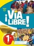 Gaëlle Rolain et Jean-Christophe Bagouet - Espagnol 1re Via Libre - Livre élève.