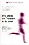 Gaëlle Vallet et Peter Lepreucht - Les droits de l'homme et le droit - Conférences de la Chaire lyonnaise des Droits de l'Homme.