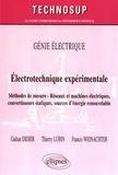 Gaëtan Didier et Thierry Lubin - Eléctrotechnique expérimtale - Méthodes de mesure, réseaux et machines électriques, convertisseurs statiques, sources d'énergie renouvelable.