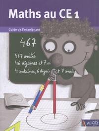 Gaëtan Duprey - Maths au CE1 - Guide de l'enseignant (livre du maitre et cahier de l'élève).
