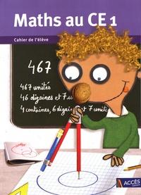 Gaëtan Duprey - Maths au CE1 - 5 cahiers de l'élève.