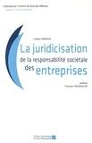 Gaëtan Marain - La juridicisation de la responsabilité sociétale des entreprises.