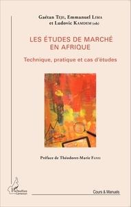 Gaétan Teje et Emmanuel Lima - Les études de marché en Afrique - Technique, pratique et cas d'études.