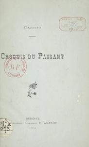 Gahisto - Croquis du passant.