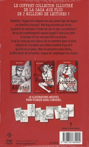Adopted love  Coffret en 3 volumes : Tomes 1 à 3 -  -  Edition collector