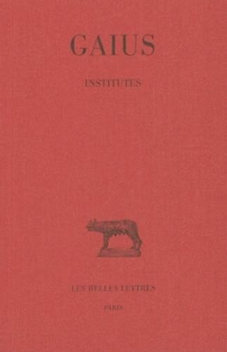 Gaius - Institutes.