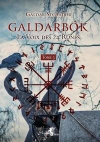 Galdar Sechador - Galdarbok - La voix des 24 runes. Tome 3.