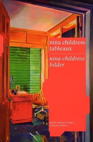 Galerie Bernard Jordan - Nina childress tableaux - Edition bilingue français-allemand.