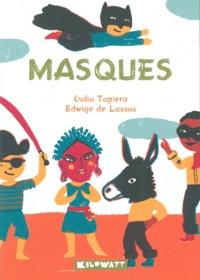 Galia Tapiero et Edwige de Lassus - Masques.