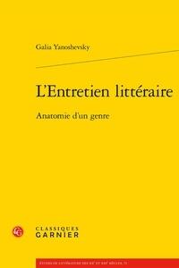 LEntretien littéraire - Anatomie dun genre.pdf