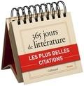 Gallimard - 365 jours de littérature.