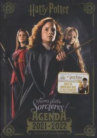 Gallimard - Agenda Harry Potter : fières d'être sorcières ! - Avec de nouveaux quiz et des stickers.