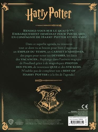 Agenda Harry Potter. Avec de nouveaux quiz et des stickers  Edition 2021-2022