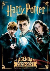 Gallimard Jeunesse - Agenda Harry Potter - Avec des quiz et des stickers.