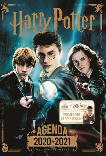 Agenda Harry Potter. Avec des quiz et des stickers  Edition 2020-2021