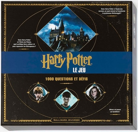 Harry Potter Le Jeu 1000 Questions Et Defis