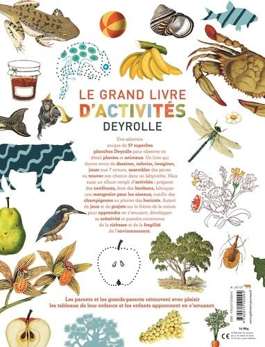 Le grand livre d'activités Deyrolle. 90 autocollants