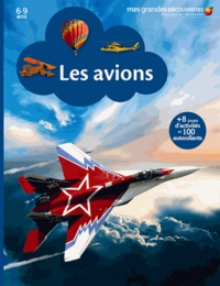 Gallimard Jeunesse - Les avions.