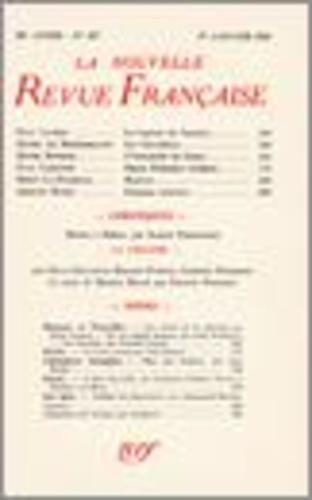 La Nouvelle Revue Française (1908-1943) N° 323 janvier 1941