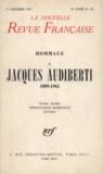 Gallimard - La Nouvelle Revue Française N° 156, Décembre 196 : Hommage à Jacques Audiberti (1899-1965).