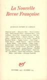 Gallimard - La Nouvelle Revue Française N° 274 (octobre 1975 : Journaux intimes.