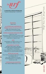 Gallimard - La Nouvelle Revue Française N° 642 : .