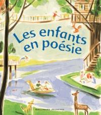 Gallimard - Les enfants en poésie.