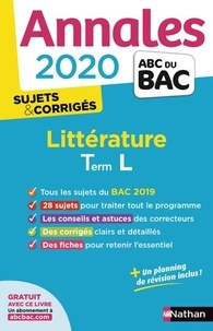 Garance Kutukdjian et Sylvia Roustant - Littérature Tle L - Sujets & corrigés.