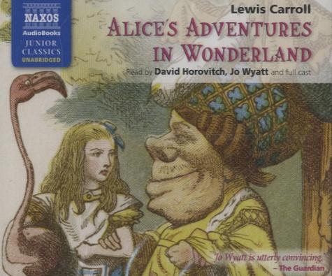 Alice's Adventures in Wonderland  3 CD audio