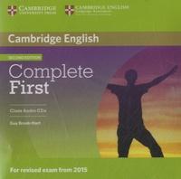 Guy Brook-Hart - Complete First - Class Audio CDs.